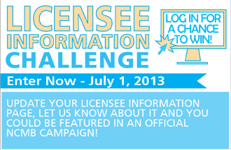 Take the NCMB's Licensee Information Challenge!