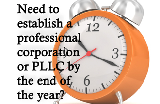 Act fast to establish corporations and LLCs