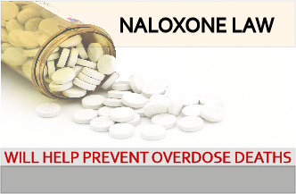"""Good Samaritan"" law offers legal protections for Naloxone prescribers"